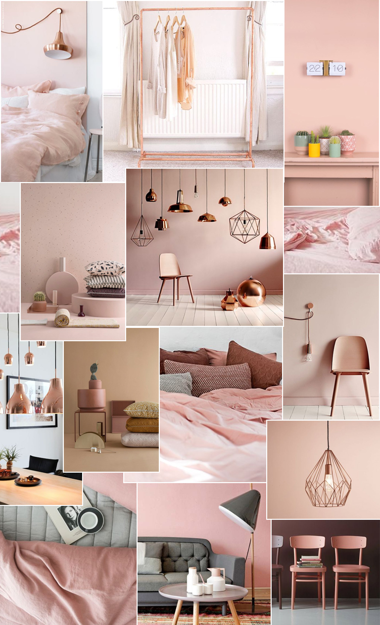 Une d co 100 rose gold douce pagaille for Deco maison rose gold